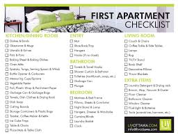 apartment 1st apartment checklist room design plan cool under