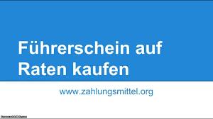 Deula Bad Kreuznach Führerschein Auf Raten Bezahlen So Klappt U0027s Mit Der Finanzierung