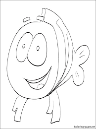 bubble guppies coloring book coloring pages