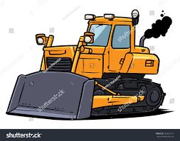 bulldozer stock vector 205622170 shutterstock