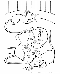 farm animals coloring page farm animal coloring pages printable mice coloring page mice