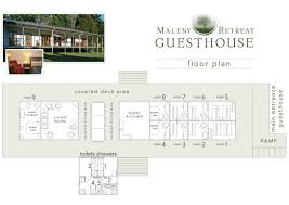 Guest House Floor Plan Weddings Maleny Retreat Accommodation Maleny Retreat Weddings
