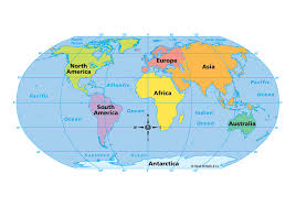 Seven Continents Map The Continents Strategic Resources