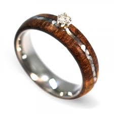 wood engagement rings diamond engagement ring of pearl ring wood engagement
