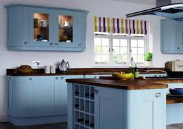 painted blue kitchen cabinets popular blue kitchen cabinets ideas