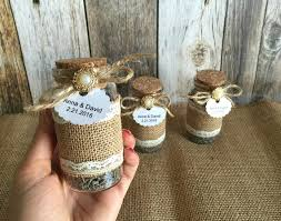 rustic wedding favors rustic wedding favors lavender filled burlap and lace glass