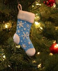 Christmas Stocking Tree Decoration Best 25 Stocking Ornaments Ideas On Pinterest Fabric Ornaments