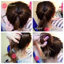 tutorial menata rambut panjang simple foto cara menata rambut wanita ala korea cara wanita