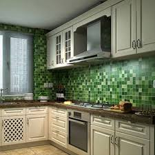 Tile Decals For Kitchen Backsplash Bluelans 45cm X 200cm Self Adhesive Mosaic Wall Tile Decals Wall