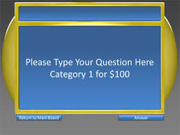 game show ppt template quiz show game multicolor categories