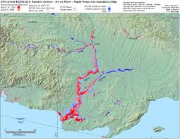 Rivers In Usa Map by 2005 Flood Archive