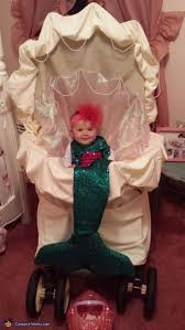 image result for baby stroller little mermaid costume pirate