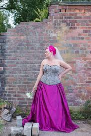 lue real alternative wedding dress made to order with