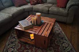 coffee tables breathtaking popular wooden crate coffee table