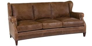 Leather Sofa Tufted by Leather Furniture