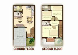 town house floor plans 2 story townhouse house plans luxury story bedroom townhouse floor