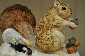 squirrel cake topper cake topper