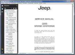 jeep grand cherokee wk u2013 2005 2010 u2013 manual taller y servicio