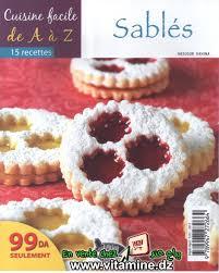 cuisiner de a à z cuisine facile de a à z sablés livres cuisine