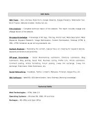 Sample Resume For Web Designer Fresher by Vinay Seo Resume Sr Search Engine Optimizer And Website Designer