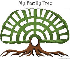 family tree templates genealogy clipart for your ancestry map