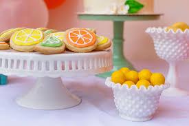 little cutie citrus baby shower project nursery
