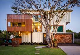 shipping container homes design with white paint home interior
