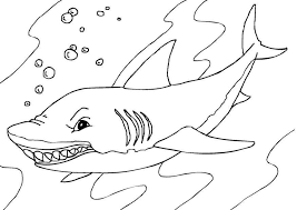 Coloring Pages Sharks Print Whale Shark Coloring Page Shark Coloring Pages Sharks Printable