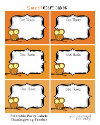 thanksgiving labels redfly creations 17 free thanksgiving printables