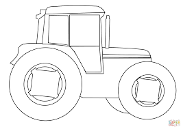 tractor coloring page rugged tractor coloring pages yescoloring