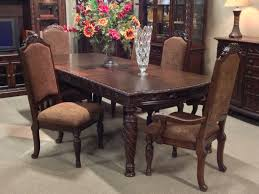 ashley dining room chairs north shore 7 piece dining room set at ashley furniture in