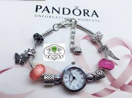 bracelet watches with charms images Pandora watch pandora bracelet watch with charms watches jpg