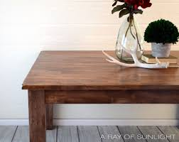 Refurbished Dining Room Tables Weathered Wood Dining Table A Ray Of Sunlight