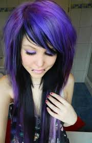 black hairstyles purple black purple hairstyles a gorgeous combination