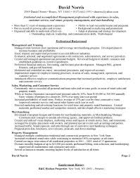 Retail Management Resume Examples by Resume For Retail Template Billybullock Us