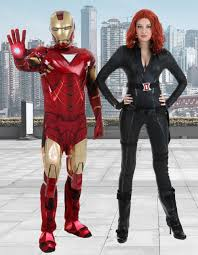 Iron Man Halloween Costume Black Widow Costumes Black Widow Costumes Adults Kids