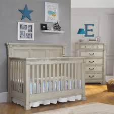 Convertible Cribs With Storage by Dorel Living Monbebe Everett 5 In 1 Convertible Crib Antique Gray