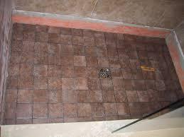 flooring shower tile floor diy installation pan grout for 42