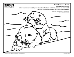 san francisco giants coloring pages usgs werc outreach sunday sea otter research at the sf bay area