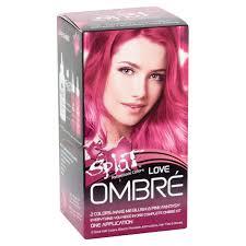 splat rebellious colors semi permanent complete kit ombre hair