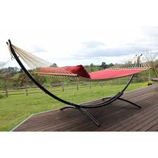 hammock shop curved black metal hammock stand