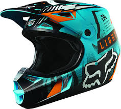 helmet motocross fox racing v1 vicious youth motocross helmets blue youth