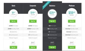 Html Table Formatting 30 Best Html Css Pricing Table Templates Tutorials