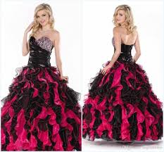 unique quinceanera dresses black pink quinceanera dresses 15 years 2015 unique sweetheart