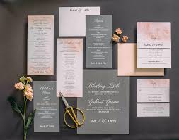 Blush Wedding Invitations Wedding Invitation Suite Marialonghi Com
