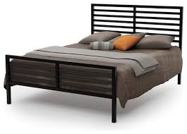 Modern Platform Bed Amisco Theodore Metal Bed Modern Platform Beds By Amisco