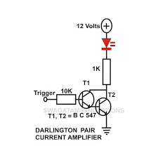 transistor circuits configuration current amplifier limiter