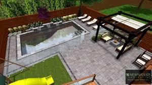 Modern Backyard New Nature Landscaping Designing A Modern Backyard Youtube