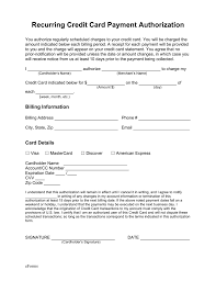 Authorization Letter For Proof Of Billing For Credit Card Beautiful Credit Card Authorization Form Contemporary Office