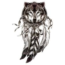 temporary dreamcatcher wolf dreamcatcher 2 artwear